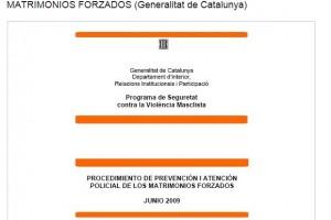 CATALUÑA, EJEMPLO EUROPEO PARA PREVENIR LOS MATRIMONIOS FORZADOS
