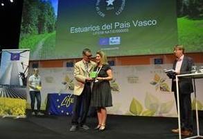 """EUSKADI """"BEST OF THE BEST"""" EN EUROPA POR SU TRABAJO EN LOS ESTUARIOS VASCOS"""