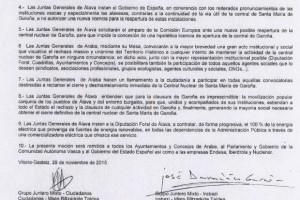 DENUNCIAMOS EN BRUSELAS EL OSCURANTISMO SOBRE GAROÑA