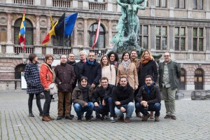 NATIONAL PARTY PRESS TEAM IN BRUSSELS!!!