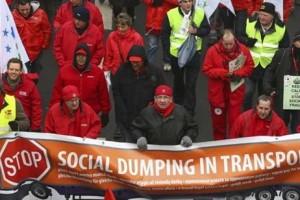 EL DUMPING EN EL TRANSPORTE NECESITA UNA NORMA EUROPEA