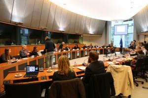La sala que ha acogido el evento del Observatorio de transparencia Nuclear