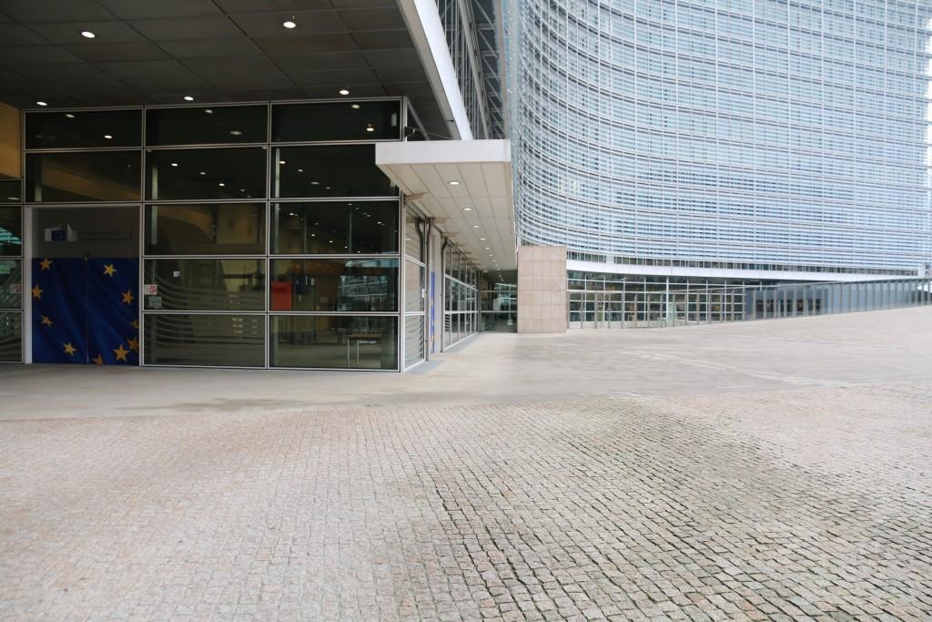 La sede central de la Comisión Europea en Bruselas.