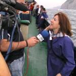 Muchos medios siguieron en directo Las Magdalenas 09
