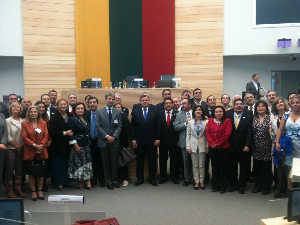El plenario de Eurolat en Vilnius