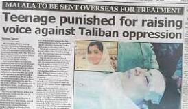 La prensa internacional recogió el atentado contra Malala