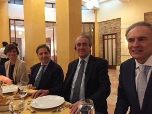 Reunión con los representantes de la ONU