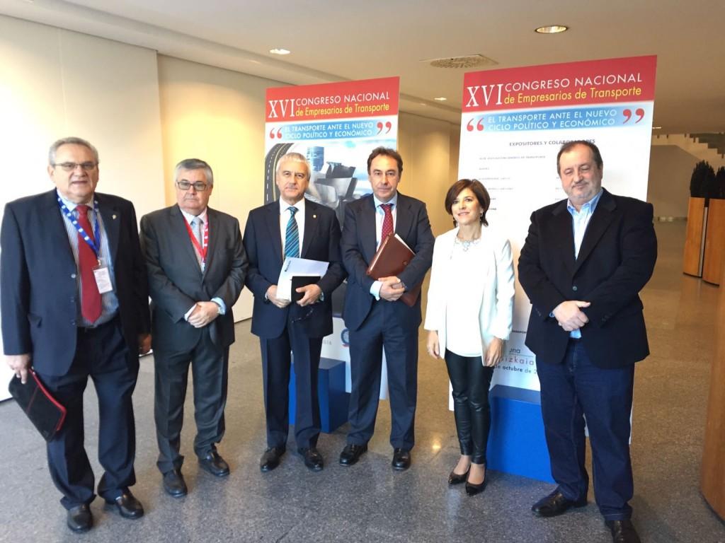 Con los organizadores del Congreso de la CETM en Bilbao