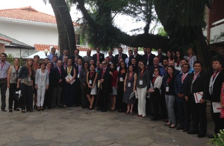 Los asistentes al Congreso de RELIAL en Santa Cruz de la Sierra