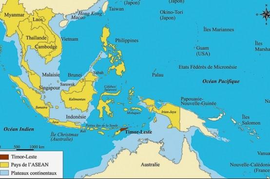 Ubicación de Timor Leste